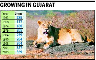 results of wildlife conservation in india