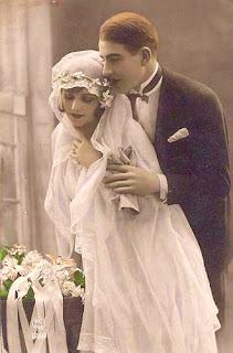 Beautiful Victorian Bride Illustration Wonderful Vintage Colorized Wedding Photo