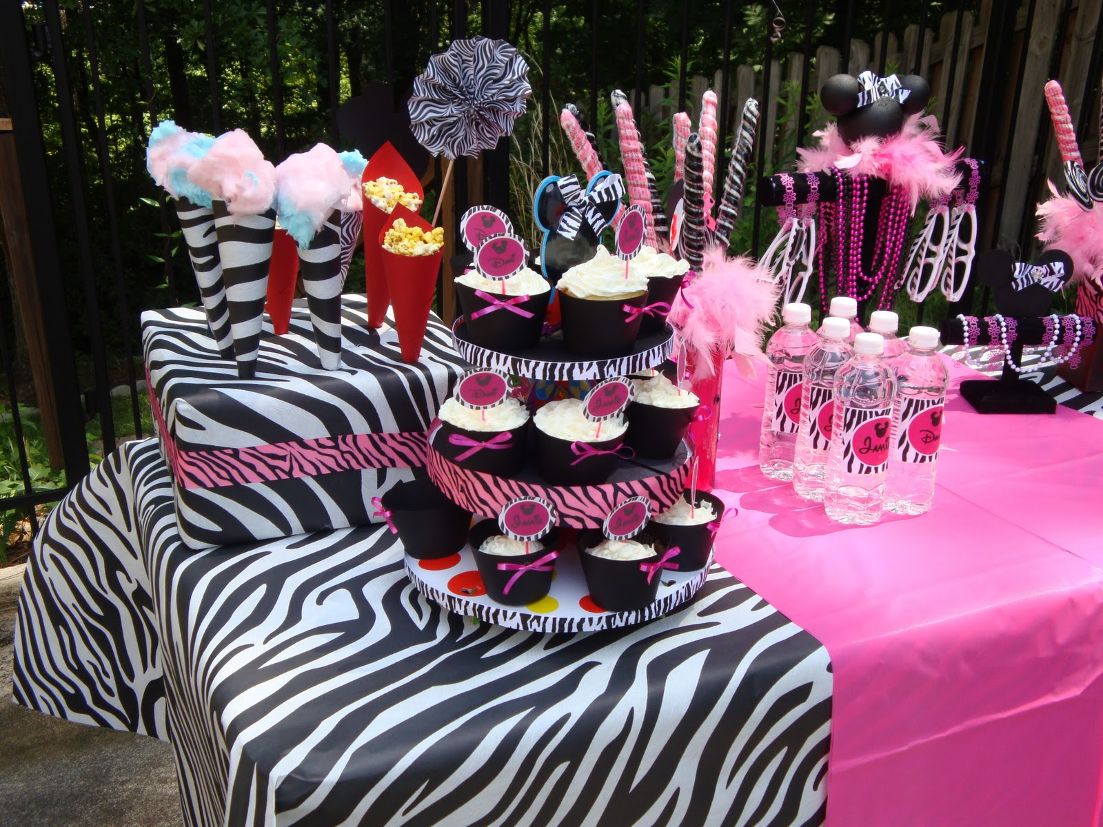 My Girls' Minnie Mouse Birthday Party Ideas w/ Silhouette & More