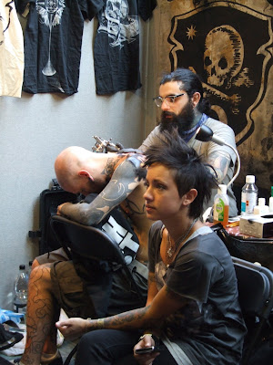 I was introduced to the wonders of Frith Street tattoo studio in Soho,