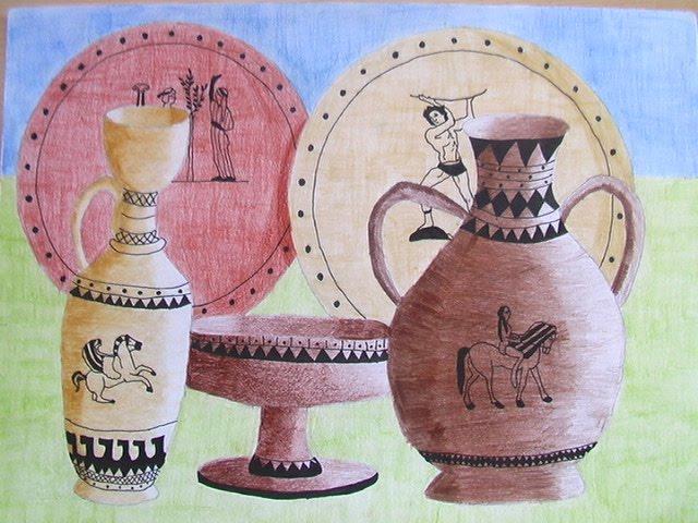 Vasi dell 39 antica grecia artisticascuola for Vasi antica grecia
