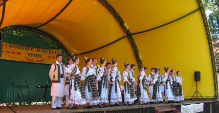 Ansamblul  Doina din Sannicolau Mare la Sibiu