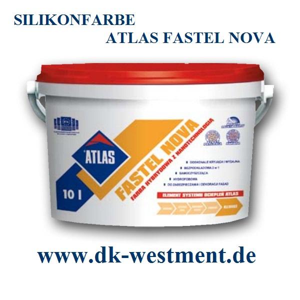 Wdvs fassadend mmung silikonfarbe atlas fastel nova - Farbtabelle fassadenfarbe ...