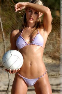 Sexy Beach Volleyball Players