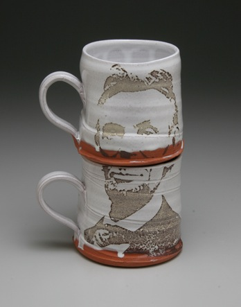 Cool stuff justin rothshank decal ceramics for Cool pottery designs