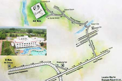 Map to River gate Resort