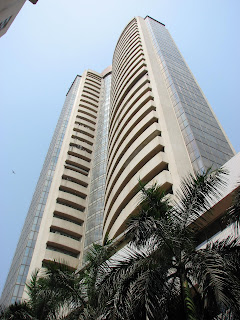 Bombay Stock Exchange or BSE at Dalal Street