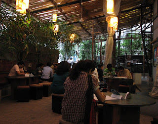 Prithvi cafe at Juhu