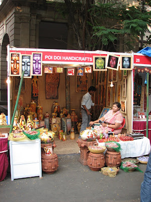 Handicraft Stall at Kala Ghoda