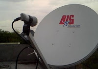 Reliance Big TV dish