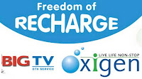 Big TV and Oxigen tie-up for more recharge options