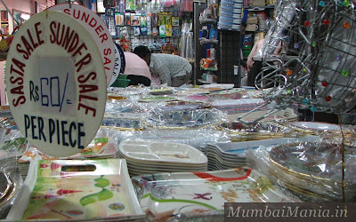 household items on discount sale in mirchi galli