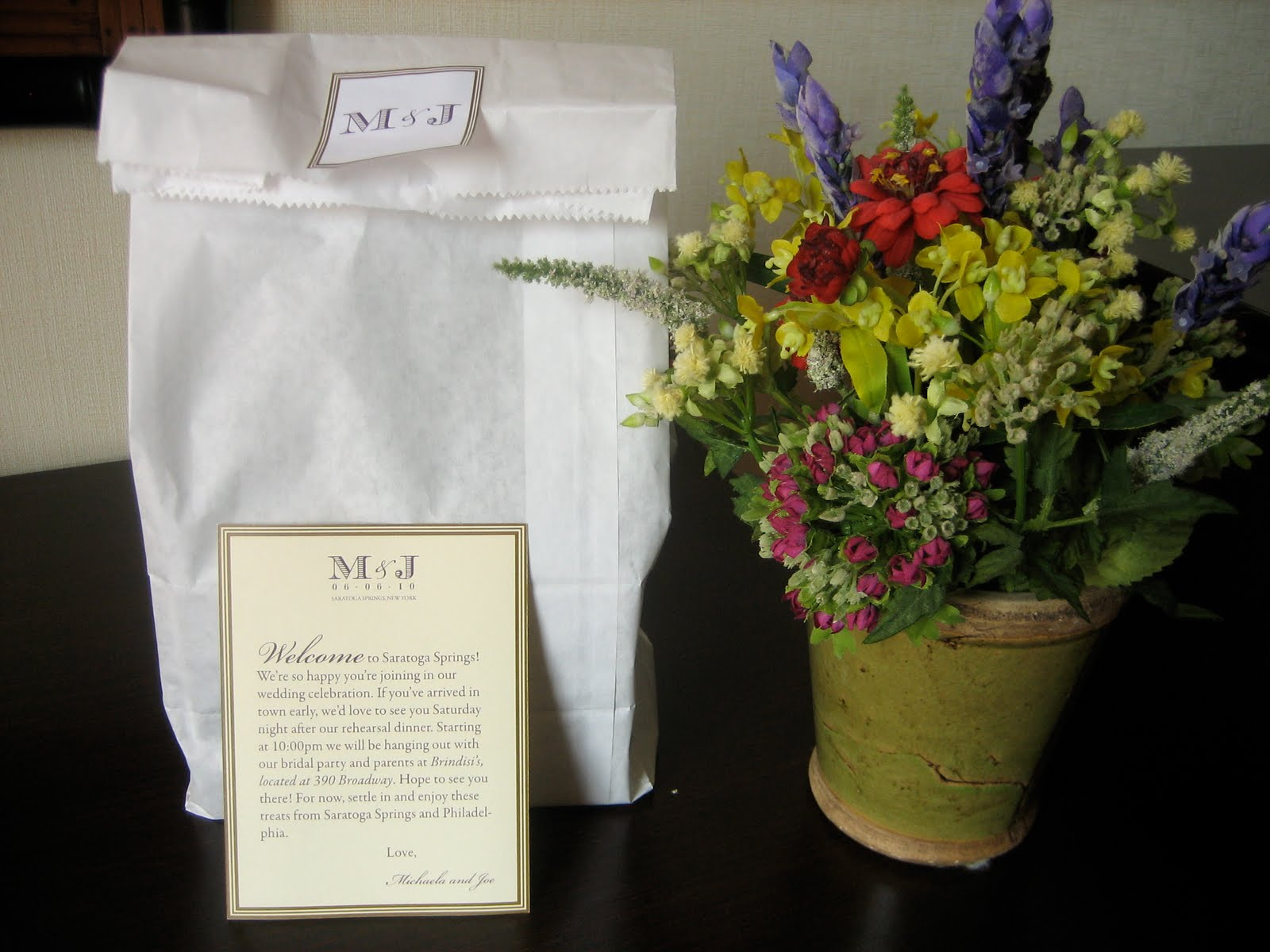 Navy Bean Michaelas Wedding
