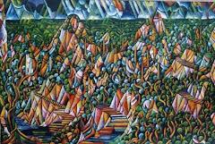 Taihape Landscape by Dean Buchanan