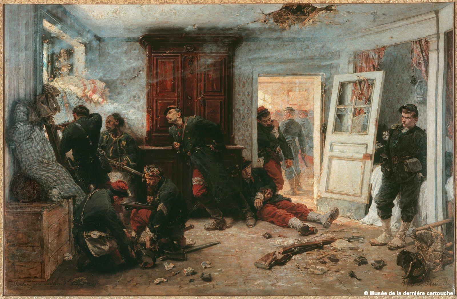 Arqueologia del punt de vista la casa de la ltima bala - La casa de los cuadros ...