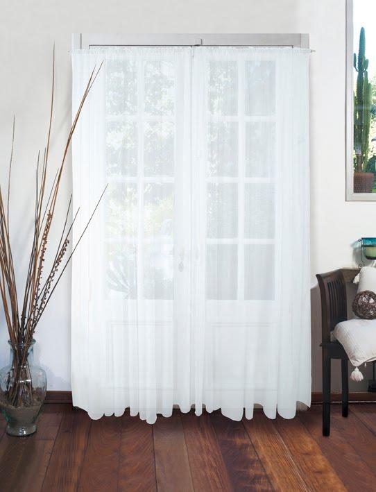 Cortinas De Baño Jean Cartier:Catálogo Jean Cartier: 0325 – Cortinas de Voile Blanco
