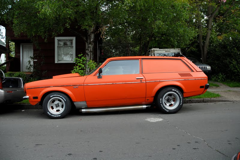 Old Parked Cars 1972 Chevy Vega Gt Kammback Panel Express
