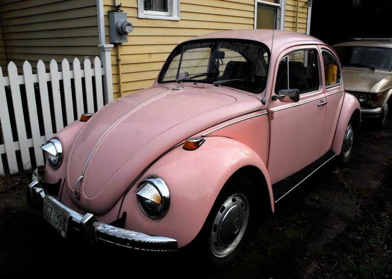 old parked cars 1969 volkswagen beetle vw automatic. Black Bedroom Furniture Sets. Home Design Ideas