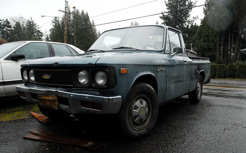 Old Parked Cars   1976 Chevy Luv Mikado Pickup