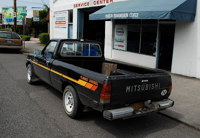old parked cars 1984 mitsubishi mighty max. Black Bedroom Furniture Sets. Home Design Ideas