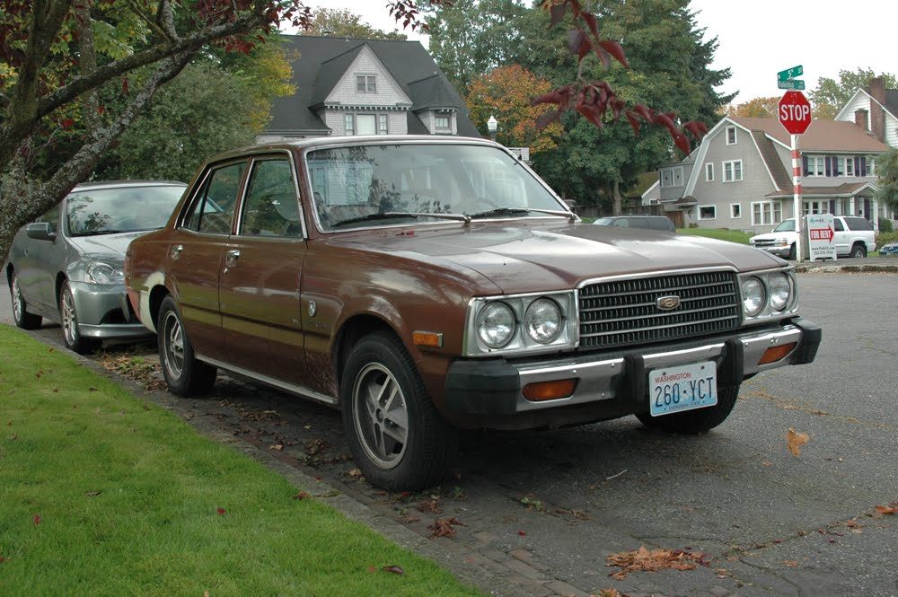 Old Parked Cars 1977 Toyota Corona Luxury Edition
