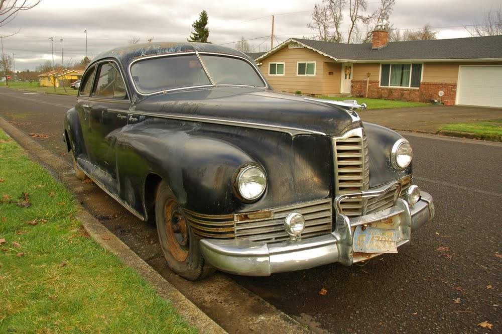 Old Parked Cars 1947 Packard Clipper Super Coupe