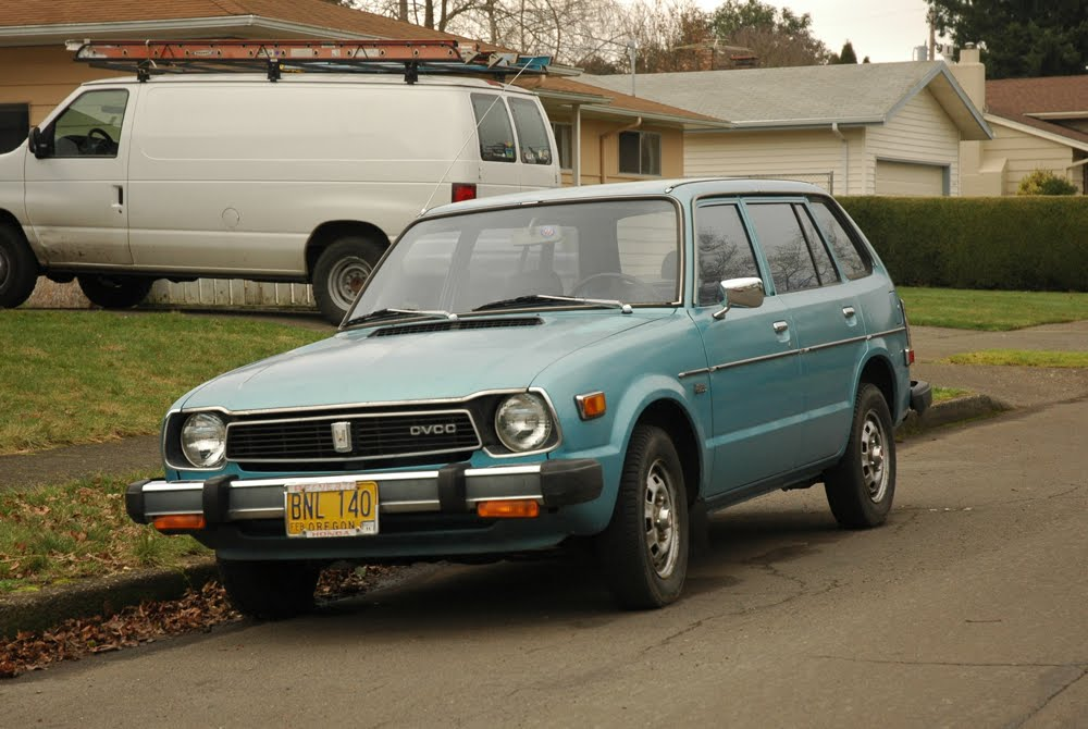Old parked cars 1978 honda civic cvcc wagon for 1978 honda civic