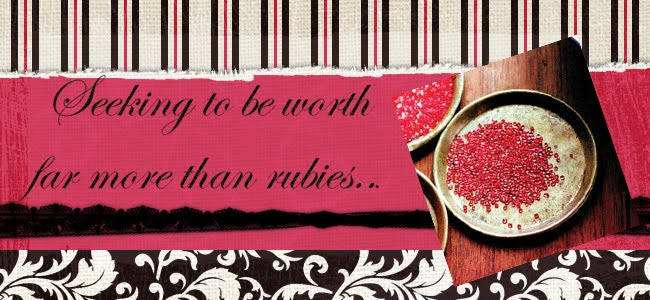 Seeking to be worth far more than rubies