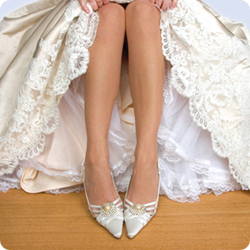 wedding shoes - flat wedding shoes