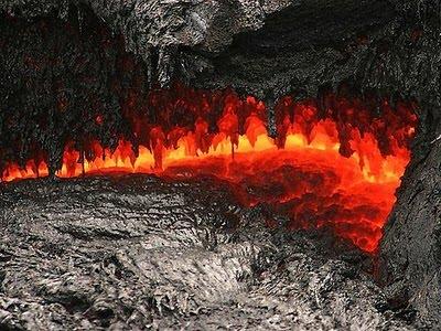 gambar, foto, lava, magma, lahar