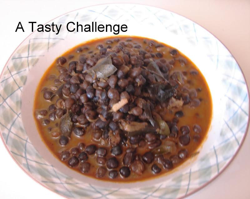 Kadala/ Black Chickpea Curry