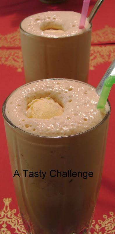Cold Coffee with Vanilla Ice-cream