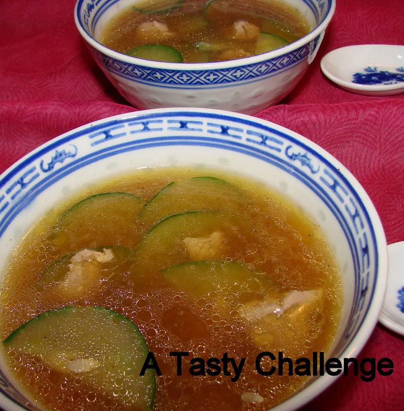Cucumber and Lamb Soup