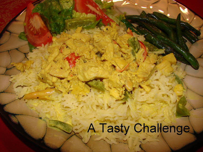 Ali-Baba Style Chicken Curry