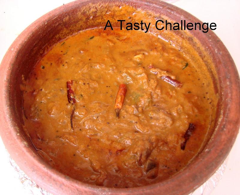 Vazhuthananga/ Eggplant Theeyal