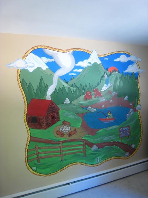 Kids Adventure Mural