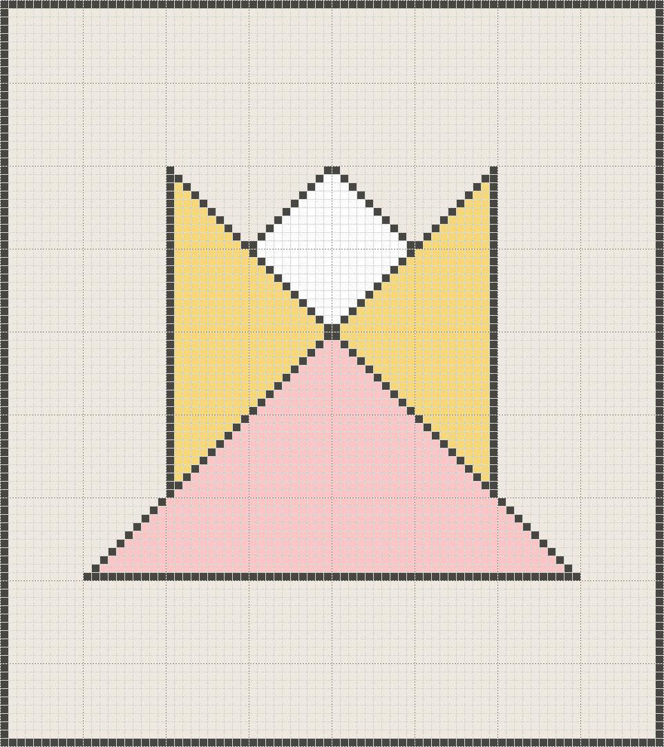 10x10 square graph