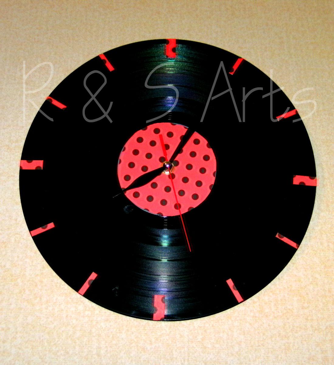 R s arts reloj vinilo - Relojes de vinilo ...