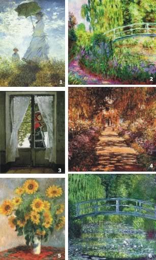 obras de monet. de Monet são Camille,