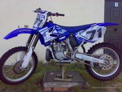 motos: yamaha yz 250cc