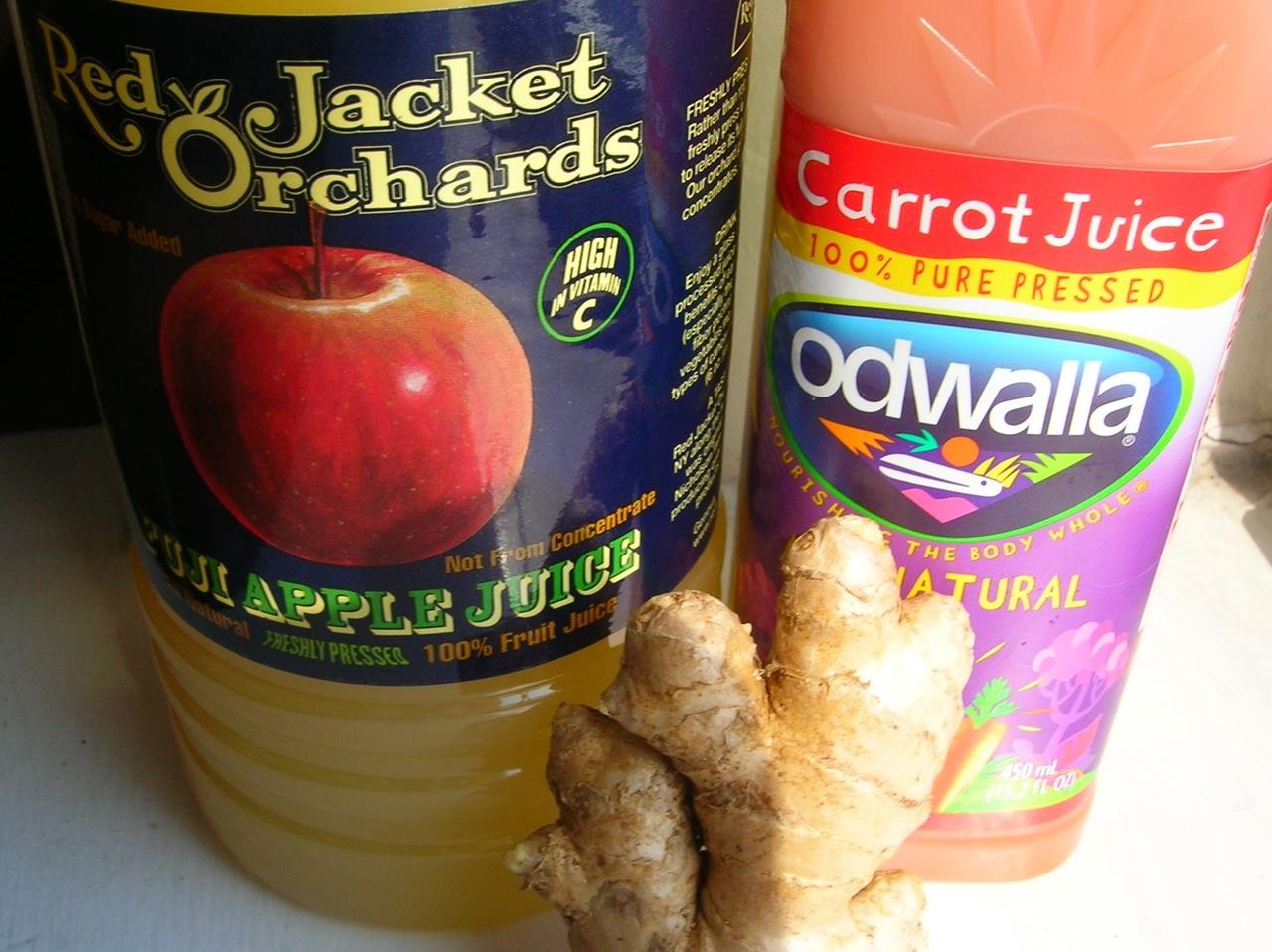 Apple Carrot Ginger Sorbet | The Frozen Fix: Ice cream ...