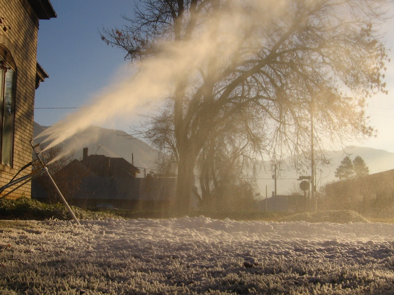 home snowmaking videos news and tips