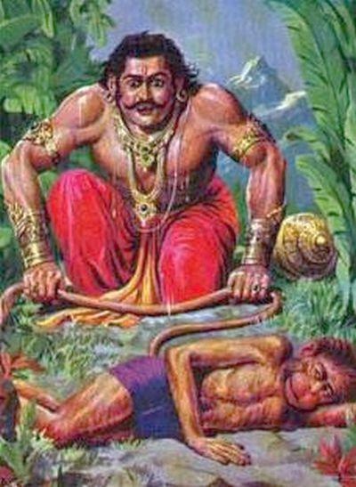 Bhima Meets Hanuman