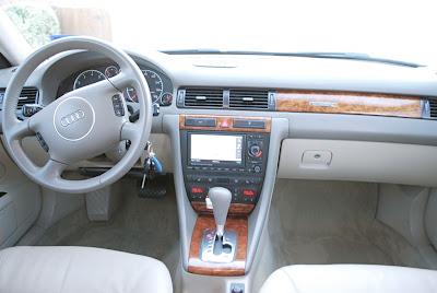 2003 audi a6 interior