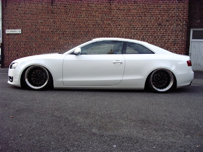 audi a5 black. white audi a5 with with lack