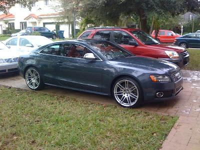 Audi Audi S With Custom Wheels Picture - Audi s5 custom