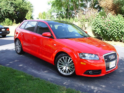 red audi a3 wallpapers