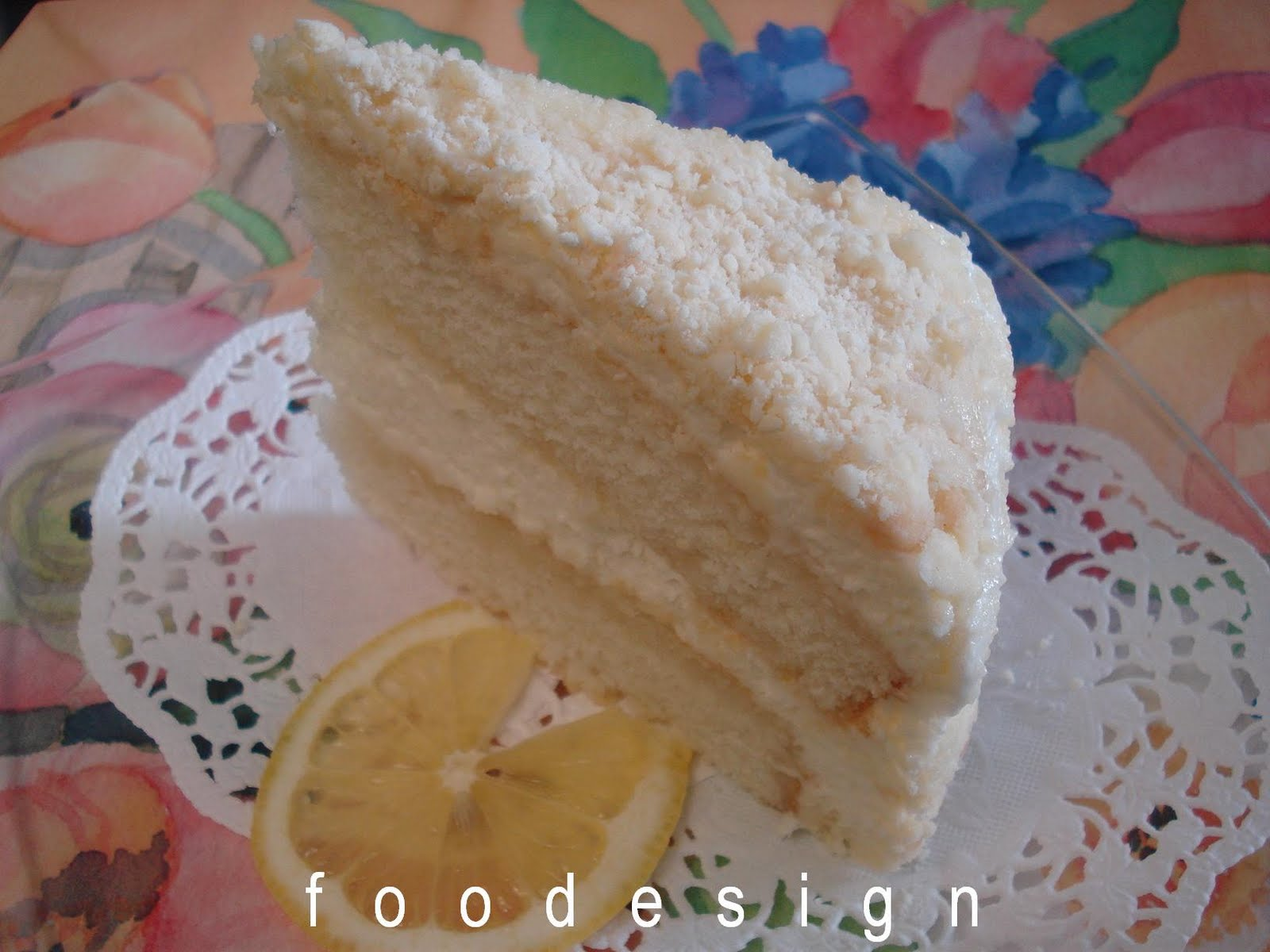 Creamy Lemon Cake Recipe — Dishmaps