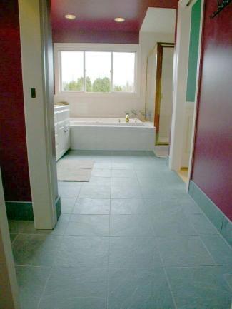 Pictures Of Bathrooms With Slate Floors. Slate Bathroom Flooring
