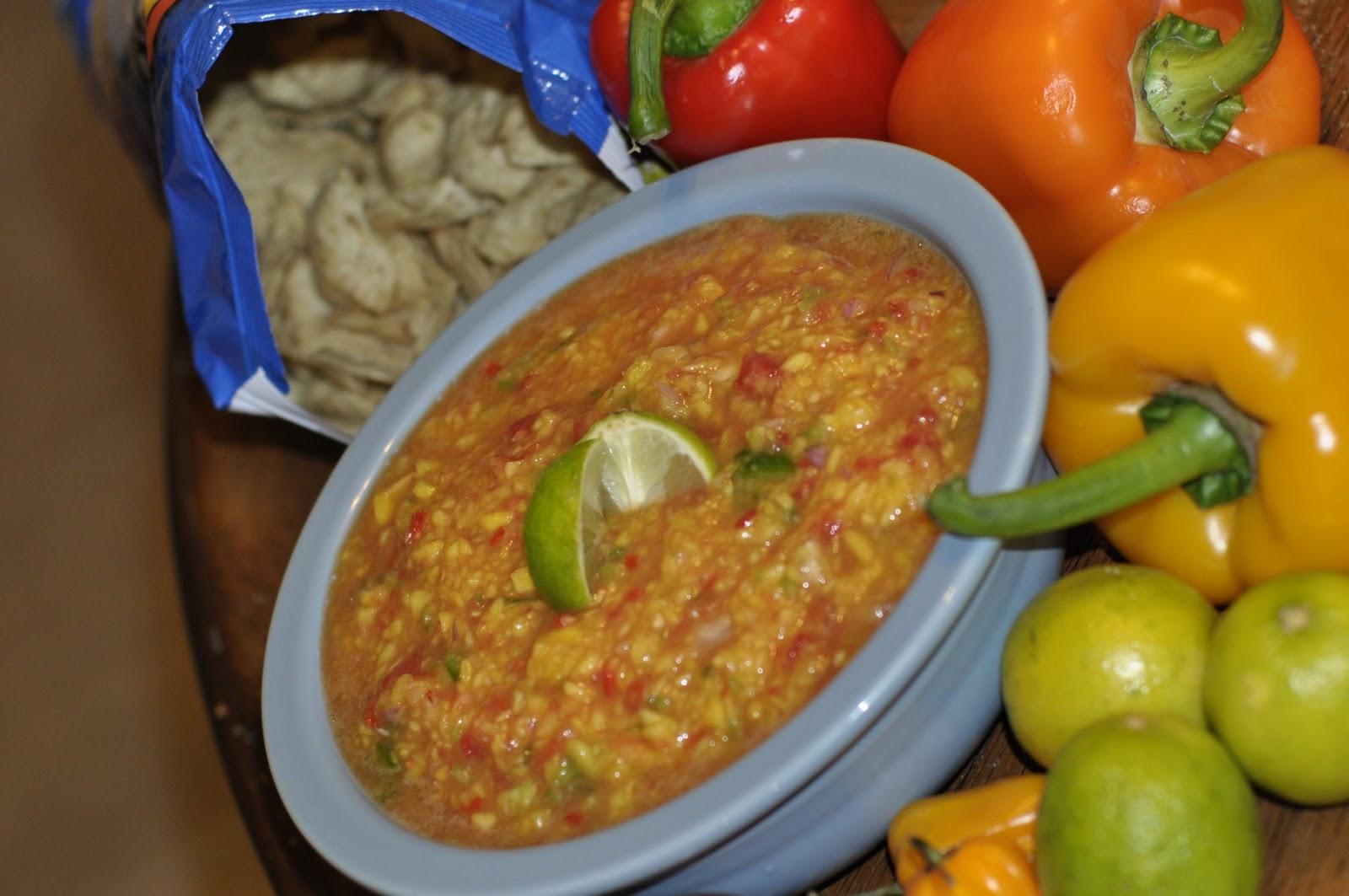 The ProAm Kitchen: Mango Habanero Salsa